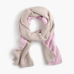 NWT J.Crew Two Tone Scarf in Everyday Cashmere